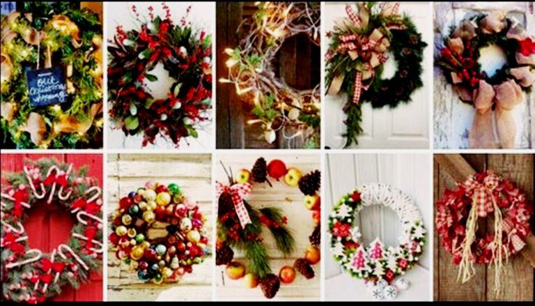 Φτιάξτε αυτές τις γιορτές ξεχωριστά χριστουγεννιάτικα στεφάνια