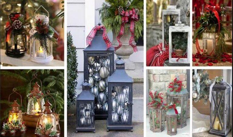 Όμορφες  ιδέες με φαναράκια που θα φωτίσουν τα Χριστούγεννα σας